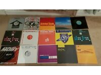 "JOB LOT OF 16 TRANCE 12"" SINGLES, IN MOSTLY GOOD CONDITION"