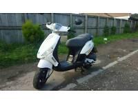 Piaggio zip 50 4 stroke 12 month mot great scooter moped ride away