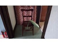 PRETTY WOODEN OCCASIONAL CHAIR