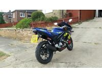 Rieju 125 matrix pro blue NEW MOT OFFERS!