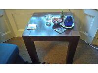 Dark Wooden Side Table