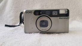 GOKO Super Macro Max 35mm film zoom rangefinder camera lomo lomography retro pre-digital