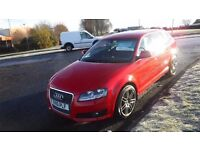 """Audi A3 2.0TDi,Sportback 2010 SE,5DR,Red,18""""Alloys,Air Con,Cruise,Very Clean Condition"""