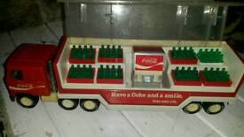 Coca cola truck vending machine