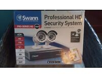 Swann professional hd security system brand new in box never been used