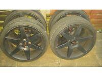 "Ford focus fiesta 18"" alloy wheels"
