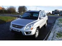 KIA SPORTAGE 2.0 XE CRDI,4x4,2010,Alloys,Air Con,Cruise Control,Full Kia Service History,Very Clean