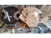 Chicco and Tomy baby carriers fir sale