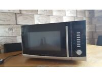 Morphy Richards Silver Microwave Oven 2450MHz