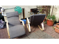 Wooden conservatory rocking chairs Bargain!!!!!!!!!