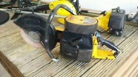 Petrol slab disc cutter fully working