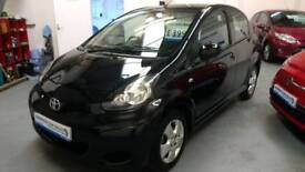 Gorgeous 2010 Toyota Aygo 1.0 5 door, ONLY 29,000 MILES, FSH, NEW MOT & 3 MONTHS WARRANTY