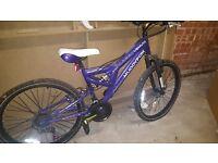 "24"" MuddyFox Mountain Bike, Pearlised Purple - Suits age 9-12 yrs"