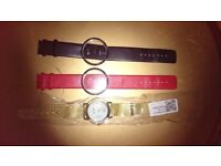 Various unused watches