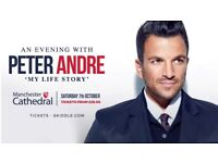An Evening with Peter Andre 'my life story' tickets