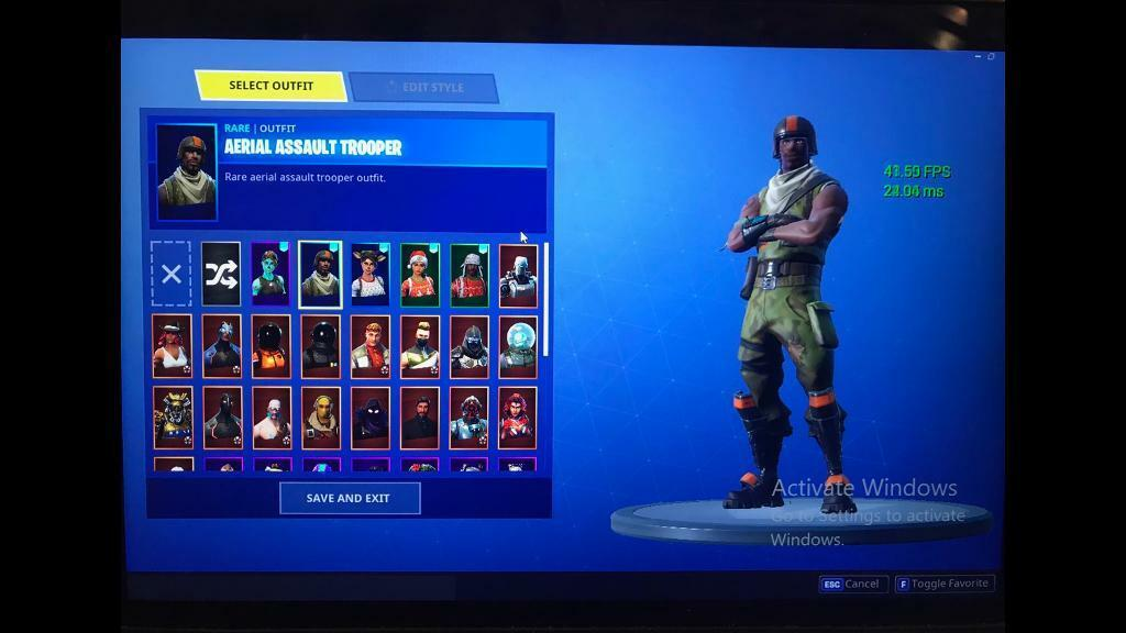 Aerial Assault Trooper Ghoul Trooper And Christmas Skins Og Stacked Fortnite In Andreas Village Gumtree