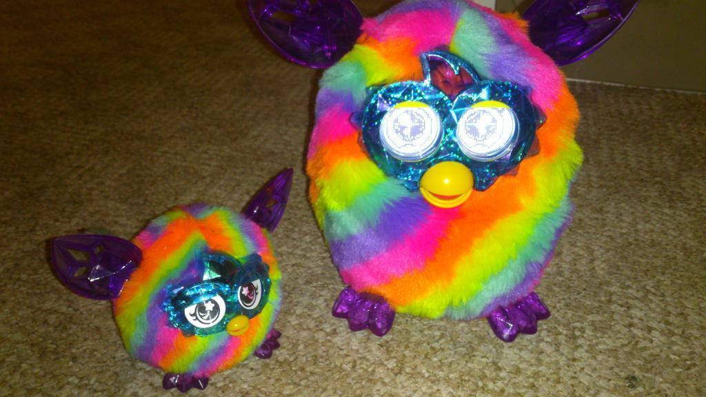 Furby boom crystal furbling