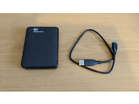 WD Elements SE Portable 2TB USB3.0 (only used a few times)