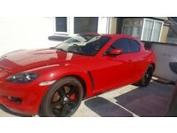 Maxda RX8 Red, 1.3 Coupe (228bhp)
