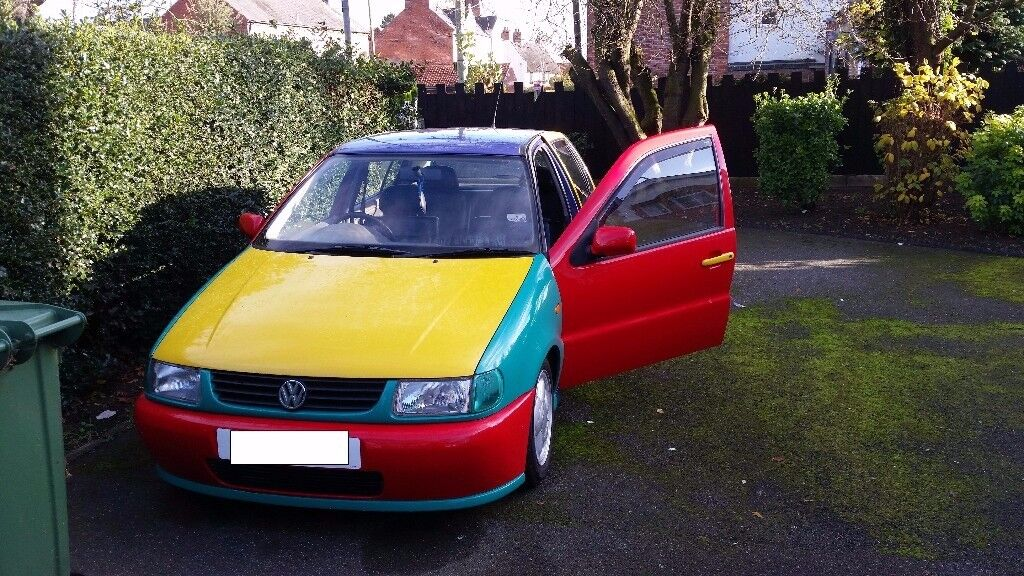 Volkswagen Vw Polo 6n Harlequin Great First Car Modified 1999
