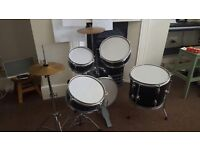 Drums for sale only 100 OnO negotiable self collect . Selling as Son moving to another set