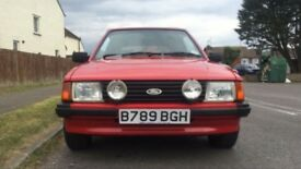 FORD ESCORT 1.6 Ghia 2dr Convertible (1984) £7,995,00 Low Mileage
