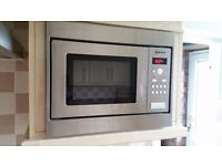 Neff integrated microwave oven stainless steel