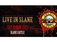 2 x VIP Tickets + Parking for Guns N' Roses at Slane Castle