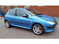 PEUGEOT 206 LOOK 2003 1.4 HDI - LONG MOT FEB 2018- FSH- ROAD TAX £30 YEAR