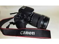 CANON EOS 700D BODY+EF-S18-135mmZOOM,IS-STM f3.5/5.6..67mmFILTER THREAD.+ POWER DRIVE