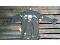 !!!!BRAND NEW!!!! Metallica army style shirt.