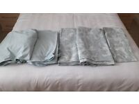 King Size Bedding 100% Cotton 2 Matching Sets - Duck Egg (Bought from J Lewis) £45 ono