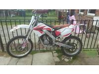 Honda cr125r 2001