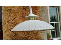 Vintage Space Age Extending Light Shade