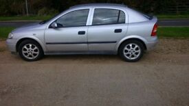 Vauxhall Astra LS 8V 2003 Petrol MOT August 2018 131,000 miles