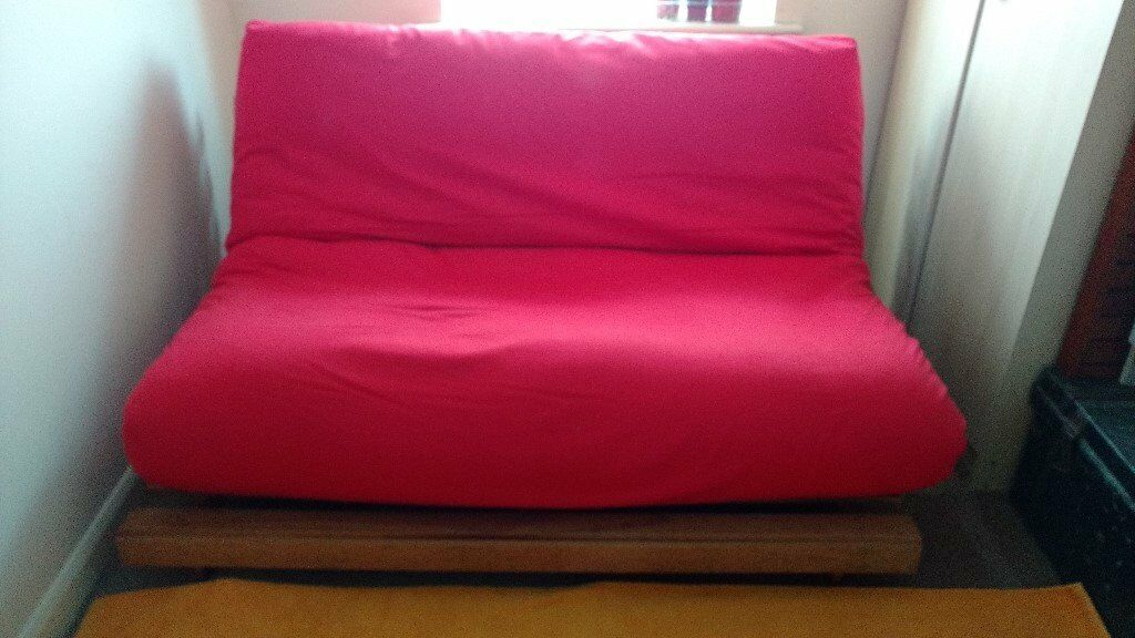 Red Futon Sofa Bed
