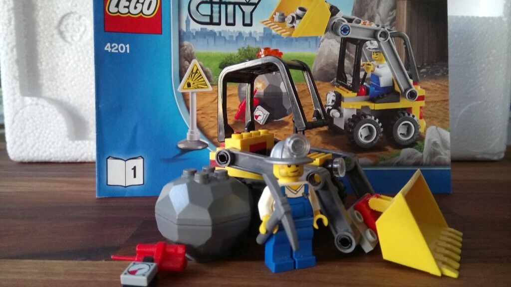 Small Lego City set mini digger with instructions | in Woodley, Berkshire |  Gumtree