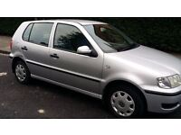 2001 Volkswagen Polo 1.0 lit. Petrol Manual MOT drives perfectly