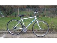 MENS GENTS ADULTS VIKING XRT 700CC HYBRID TYRE 19 FRAME 18 SPEED ALUMINIUM FRAME BIKE BICYCLE