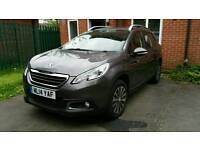 Peugeot 2008 Cross Over Active E-hdi 92, 1560CC Diesel Automatic (ML14 YAF) 2014 Plate