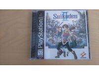 Suikoden II 2 PS1 (NTSC) - Complete - Excellent Condition