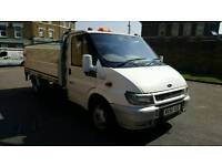 FORD TRANSIT LWB DROP SIDE TWIN LEZ COMPLIANT AXLE CLEAN