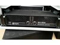 Skytec 1200w Amplifier hardly used