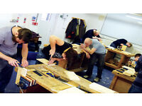 Classes in Woodwork, Upholstery, Carving, DIY and Upcycling
