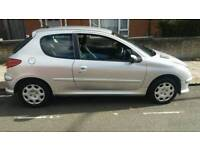 PEUGEOT 206 1.4 LOOK 1 FORMER LADY KEEPER ONLY 38000 GENUINE LOW MILES FREE 6 MONTHS WARRANTY