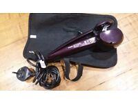 Babyliss curl secret used few times.