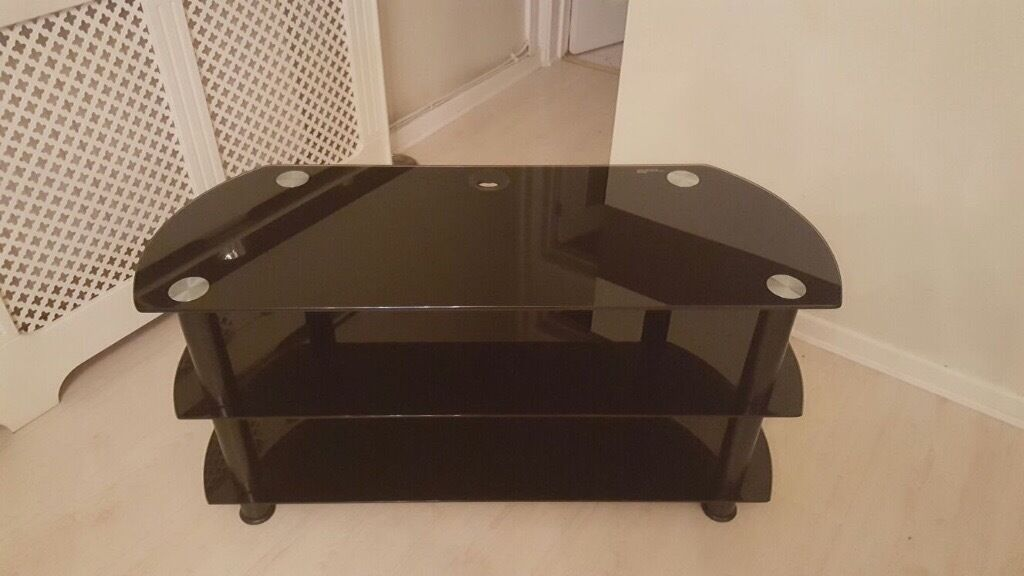 Tv stand 104 cm wide and 40 cm deep. Like new.