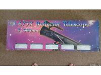 telescope never used