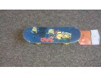 Toddler Minions Skateboard.