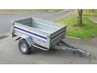 Metal Tipping Trailer